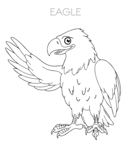 Eagle Coloring Pages | Playing Learning - photo#41