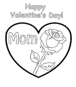Valentine's Day Coloring Pages | Playing Learning