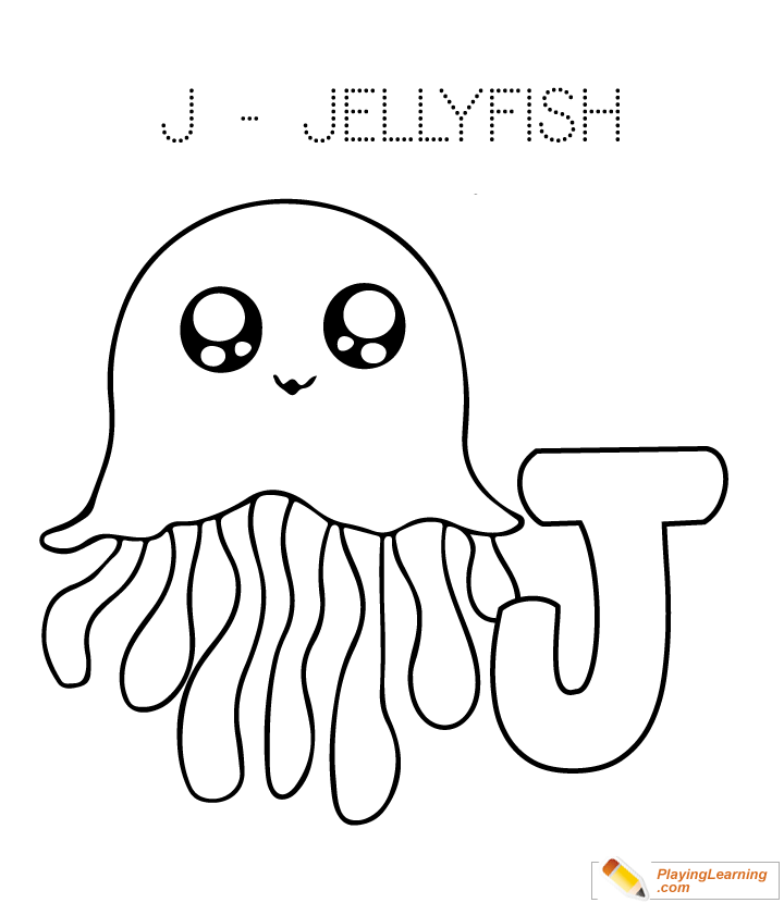 box jellyfish coloring pages | Addition Page Of A Jellyfish Coloring Pages