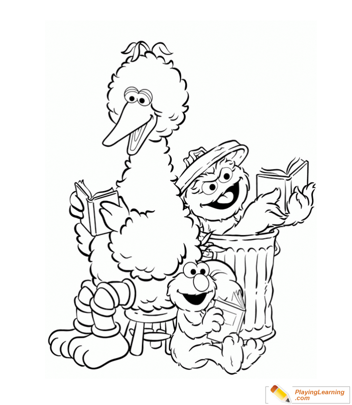 Top 25 Free Printable Big Bird Coloring Pages Online   830x720