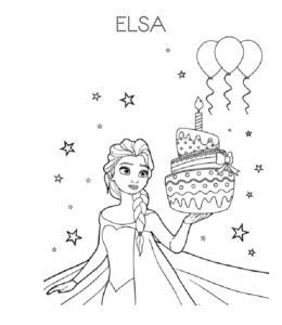 Printable Birthday Cupcake Coloring Page Coloring And Drawing
