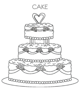 450 Top Coloring Pages Of Birthday Cakes Images & Pictures In HD