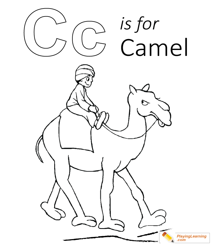 Letter C coloring pages of alphabet (C letter words) for kids ...   830x720