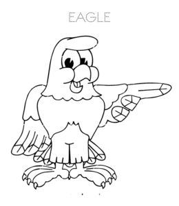 Eagle Coloring Pages | Playing Learning - photo#28