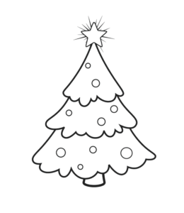 Christmas Coloring Page 4 For Kids