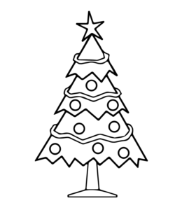 Christmas Coloring Page 5 For Kids