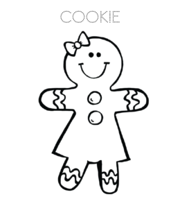 Cookie Coloring Pages | Playing Learning on