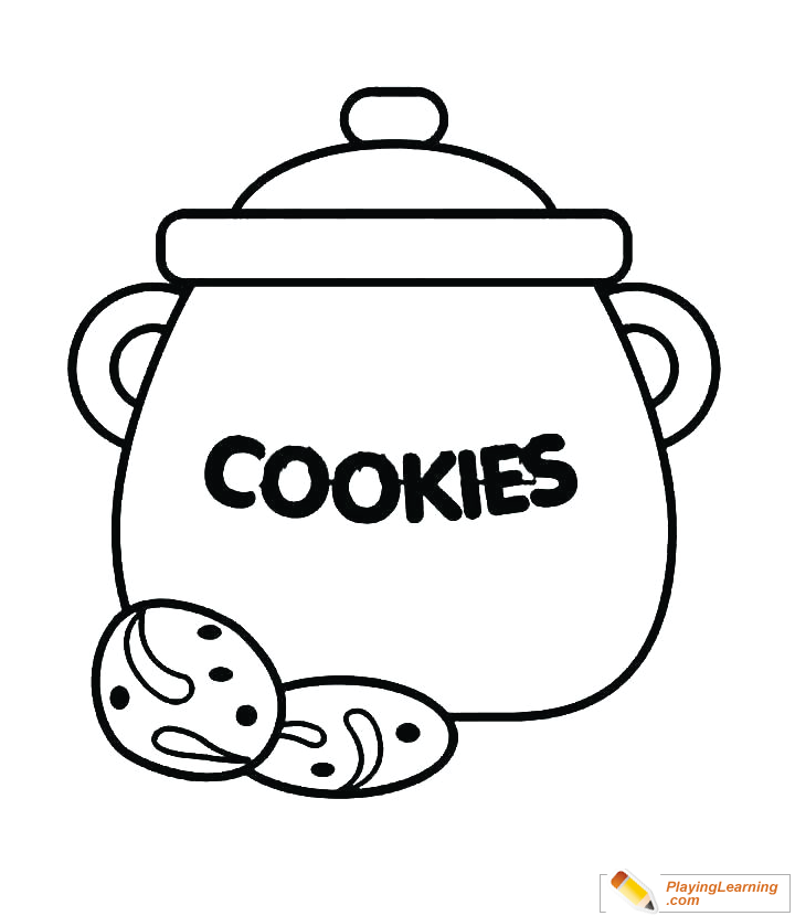 Cookie Jar Sketch Coloring Pages Coloring Sky - Coloring Pages | 830x720