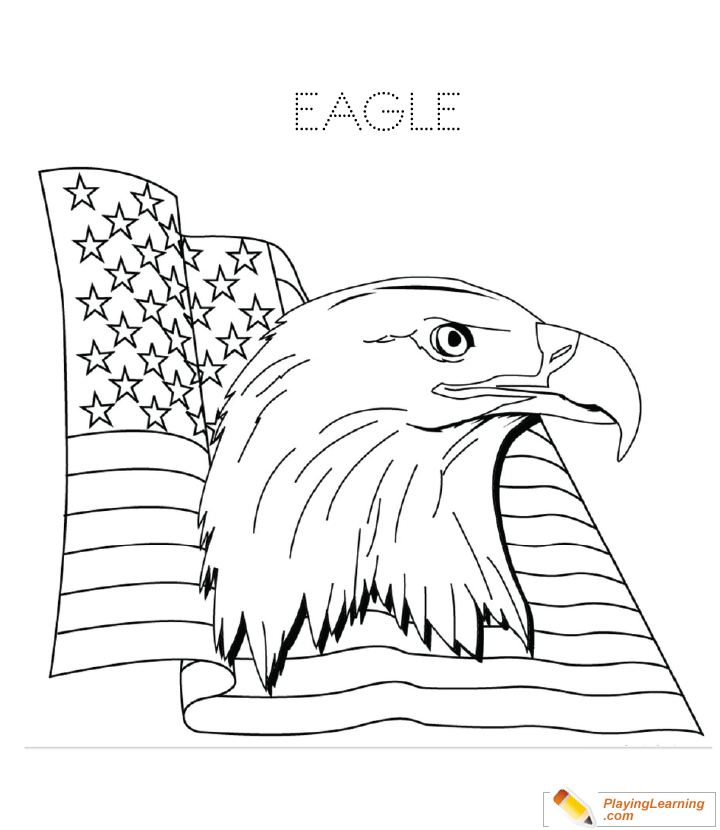 99 Eagle Coloring Book Page Best HD