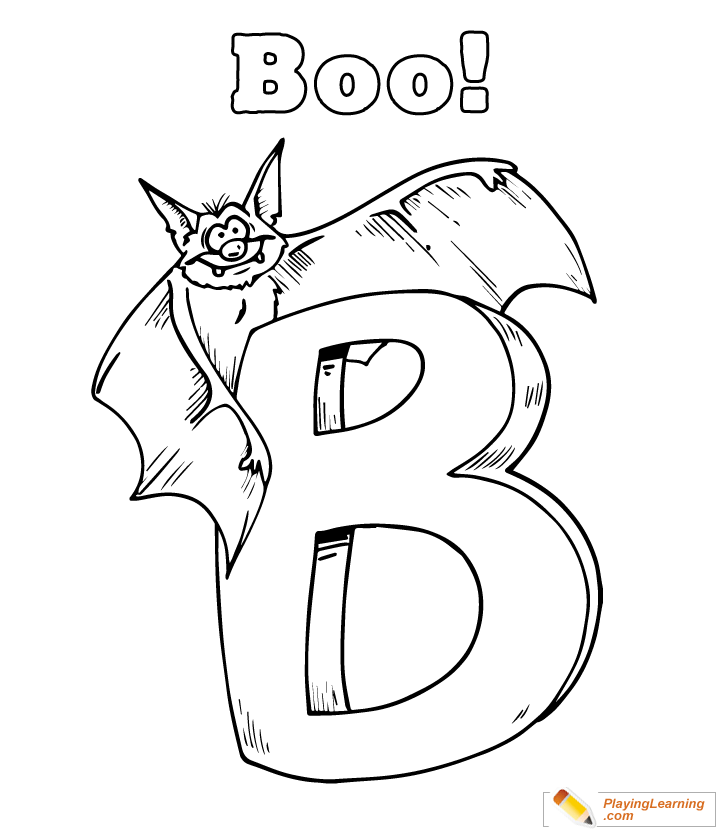 Easy Halloween Coloring Page 04 Free Easy Halloween