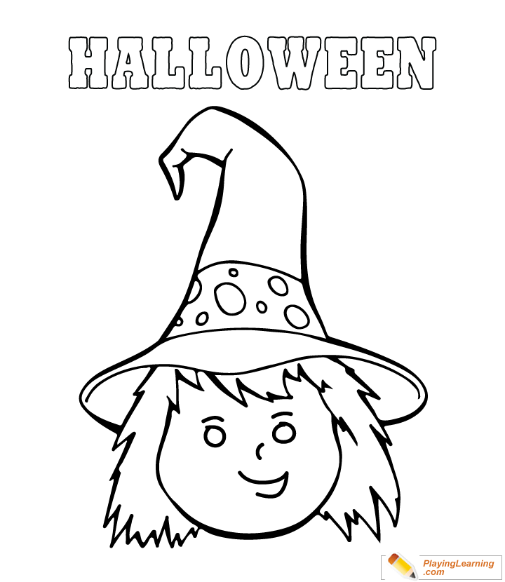 Easy Halloween Coloring Page 13 Free Easy Halloween Coloring Page