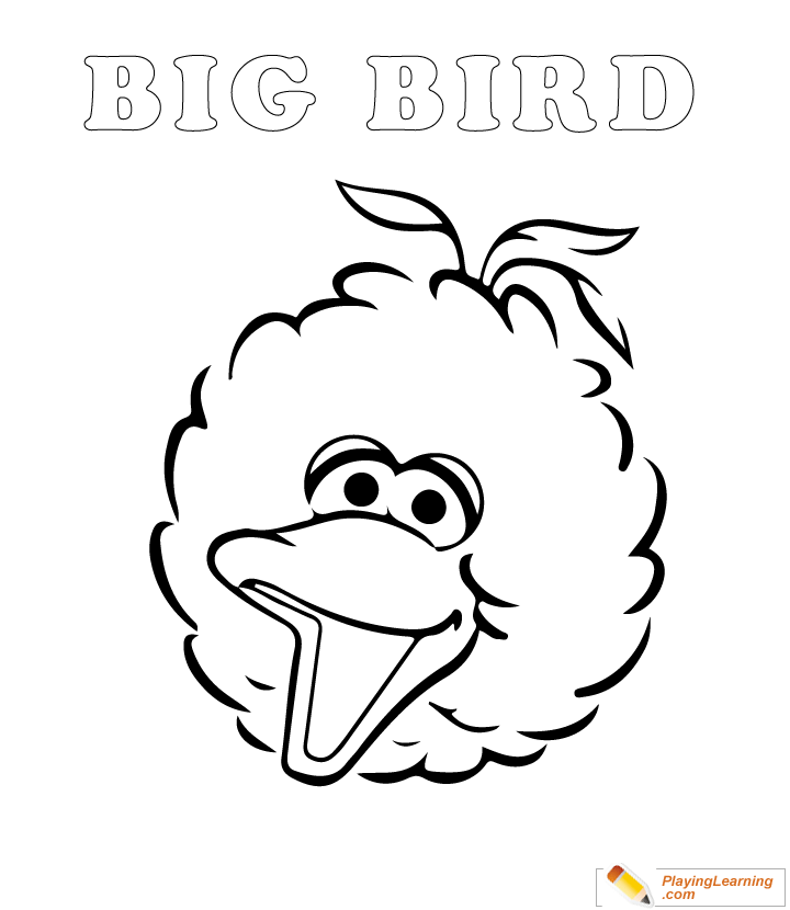 20+ Free Printable Sesame Street Coloring Pages - EverFreeColoring.com | 830x720