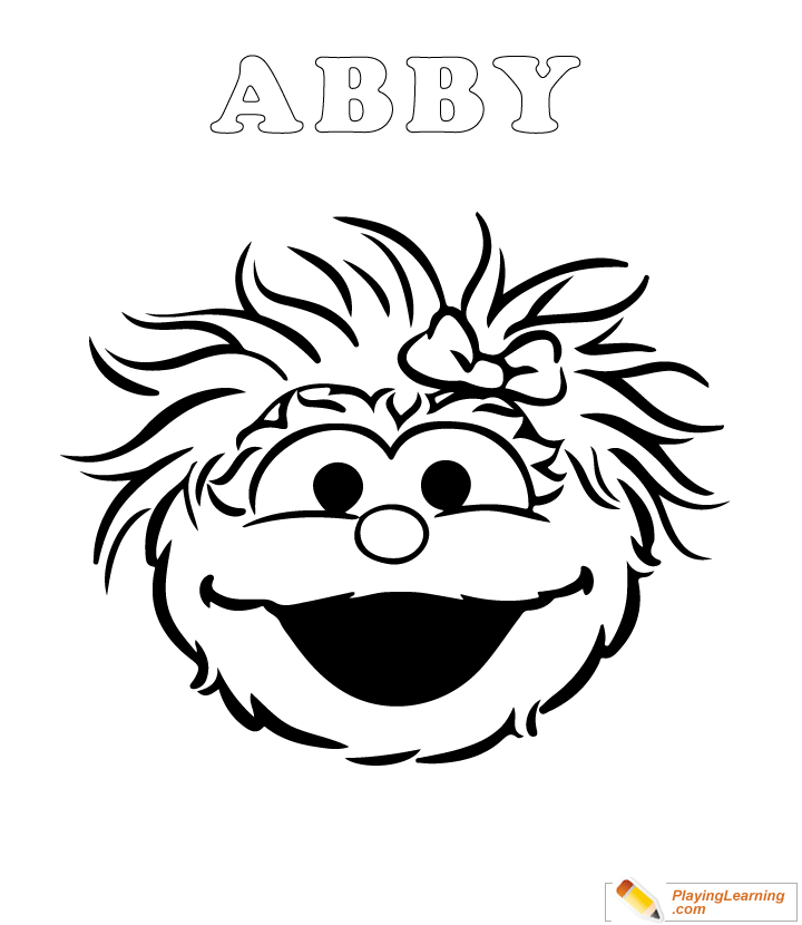 Easy Sesame Street Coloring Page 05 Free Easy Sesame Street Coloring Page