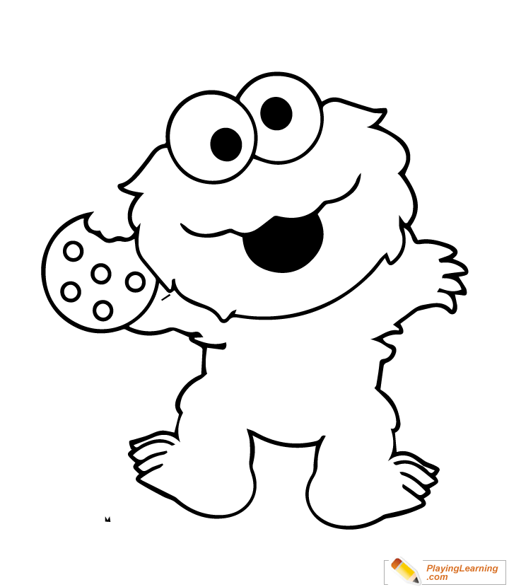 - Easy Sesame Street Coloring Page 07 Free Easy Sesame Street Coloring Page