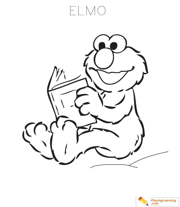 Elmo Coloring Page 03 Free Elmo Coloring Page