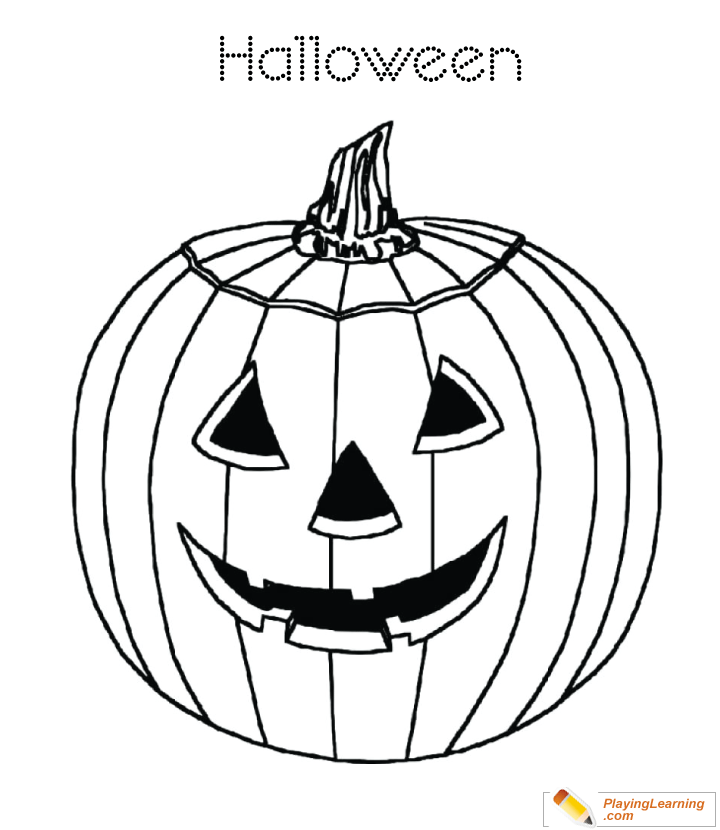Let's Enjoy These Pumpkin Coloring Pages | Calabazas de halloween ... | 830x720