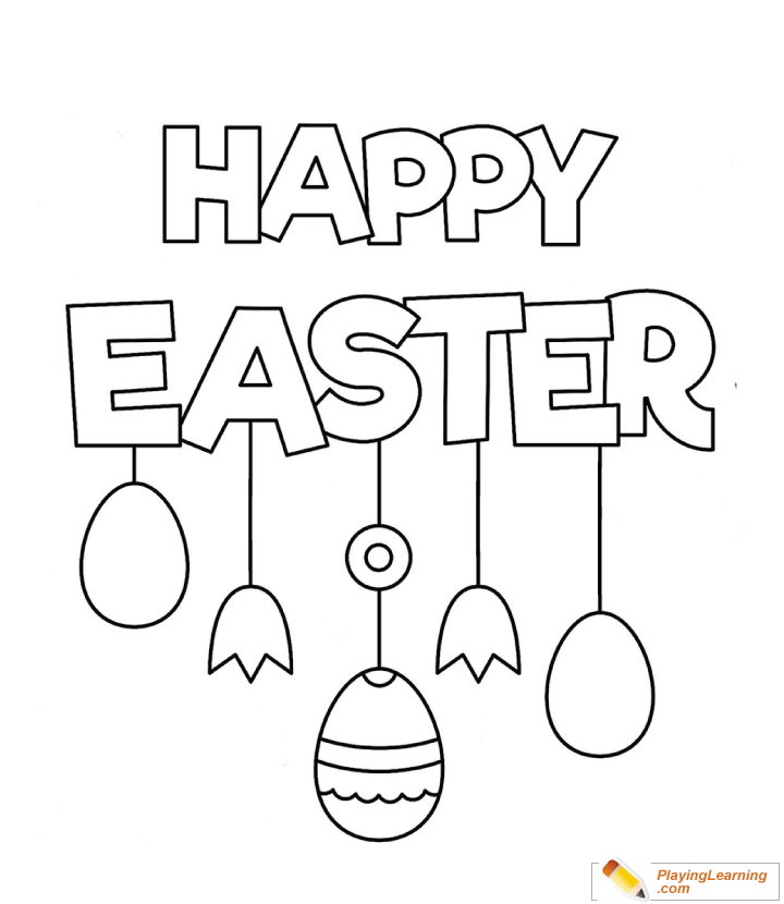 Happy Easter coloring page   Free Printable Coloring Pages   830x720