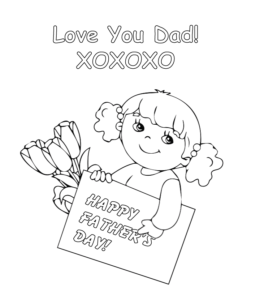 Free Fathers Day Printables and MORE | Fathers day coloring page ... | 300x260