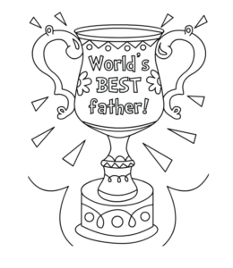 Father's Day Coloring Pages Hallmark Ideas & Inspiration Fathers ... | 300x260