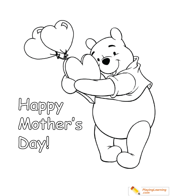 - Happy Mothers Day Coloring Page 12 Free Happy Mothers Day Coloring Page