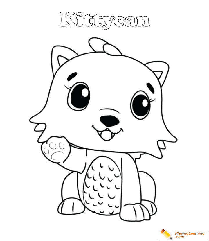 Hatchimals Coloring Page 19 Kittycan Free Hatchimals Coloring Page  Kittycan