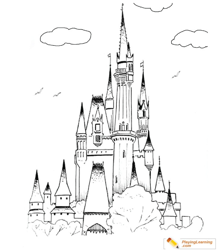 - Ice Castle Coloring Page 02 Free Ice Castle Coloring Page