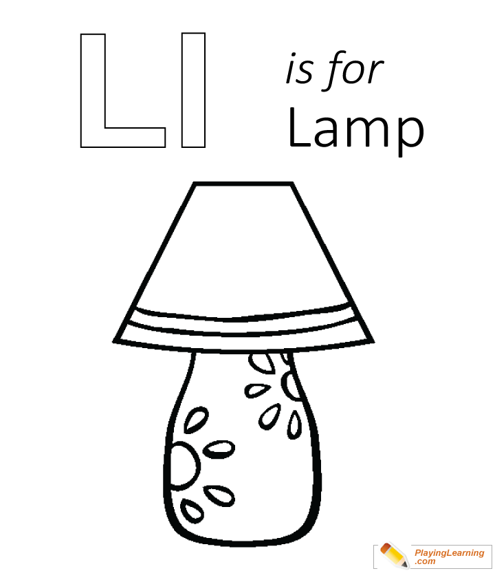 l is for lamp coloring page free l is for lamp coloring page l is for lamp coloring page free l is