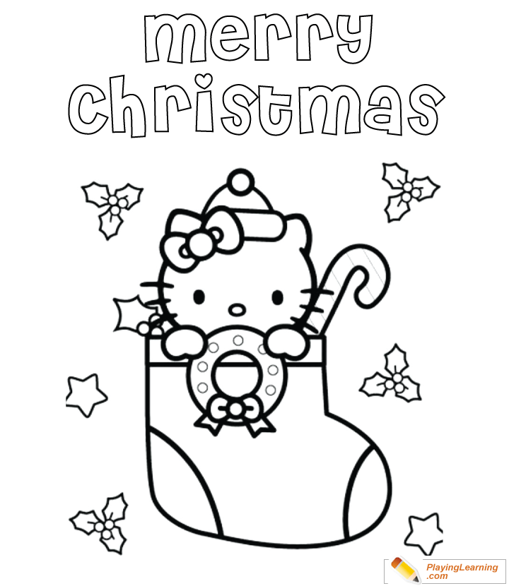 - Merry Christmas Coloring Page 08 Free Merry Christmas Coloring Page