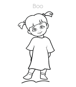 Monsters Inc Coloring Pages | Playing Learning