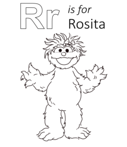 Sesame Street Printable Coloring Pages (85 Free Sheets) | 300x260