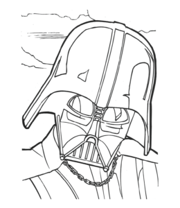 Star War Coloring Page 12 For Kids
