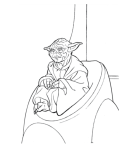 Star War Coloring Page 16 For Kids