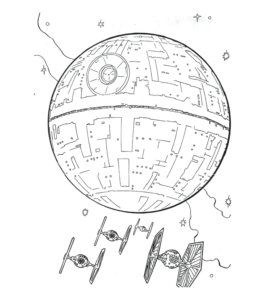 Star strike coloring pages - Hellokids.com | 300x260
