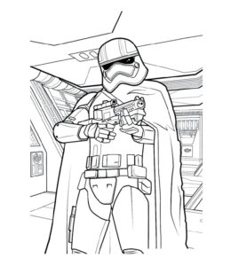 Empire Strikes Back Coloring Pages Collection | 300x260