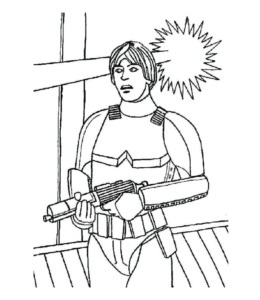 Star War Coloring Page 86 For Kids