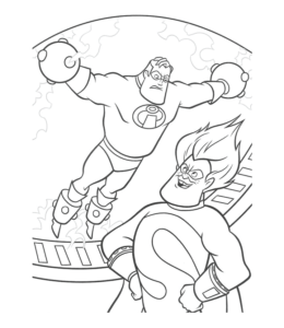 The Incredibles Coloring Pages Epartners Page New