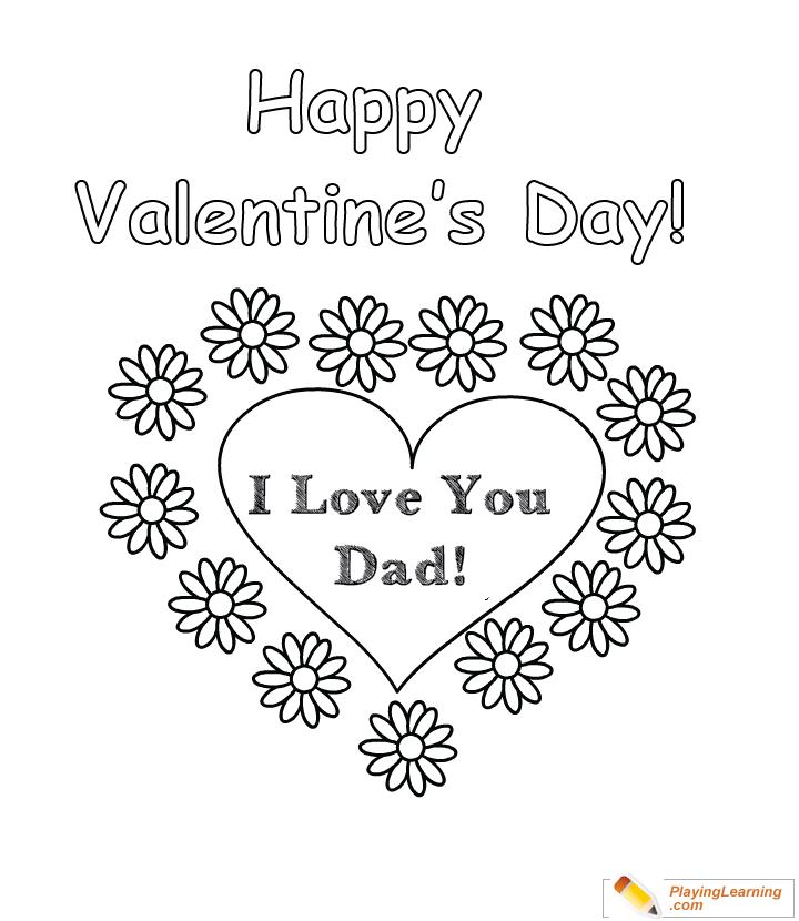 Valentines Day Coloring Cards Www.tuningintomom.com