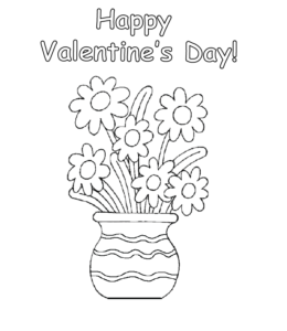Free Hearts With Wings And Roses Coloring Pages, Download Free ... | 300x260